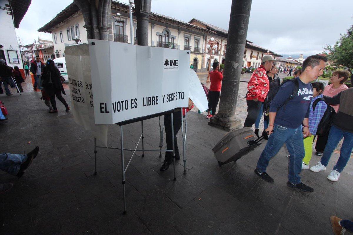 Reportan poca participación en elecciones de Puebla