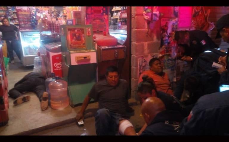 Borrachera termina en balacera, mueren dos en Chalco
