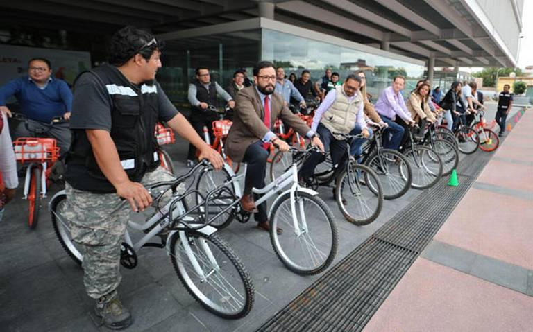 Ofrecen bicicletas gratis en la Miguel Hidalgo