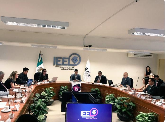 Instituto Electoral de Aguascalientes inicia sesión permanente