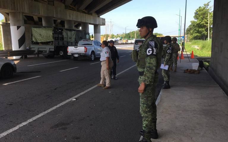 Despliega Guardia Nacional operativo en la frontera Sur