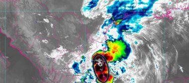 Chubascos y lluvia fuerte en la capital del país