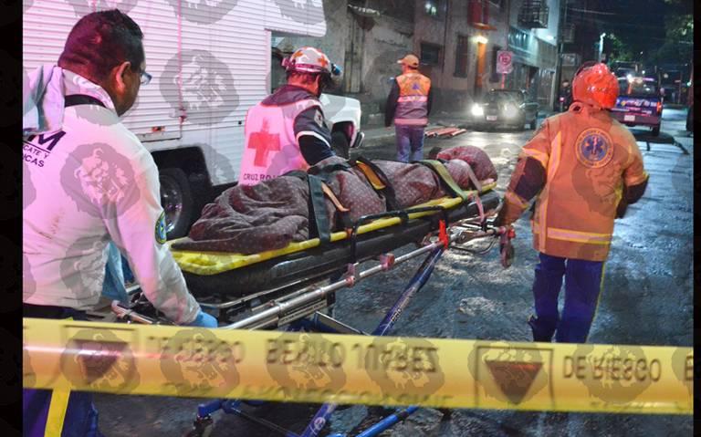 Mueren madre e hija por caída de techo en la Benito Juárez