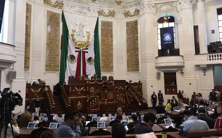 Se rezaga Congreso capitalino en aprobar leyes