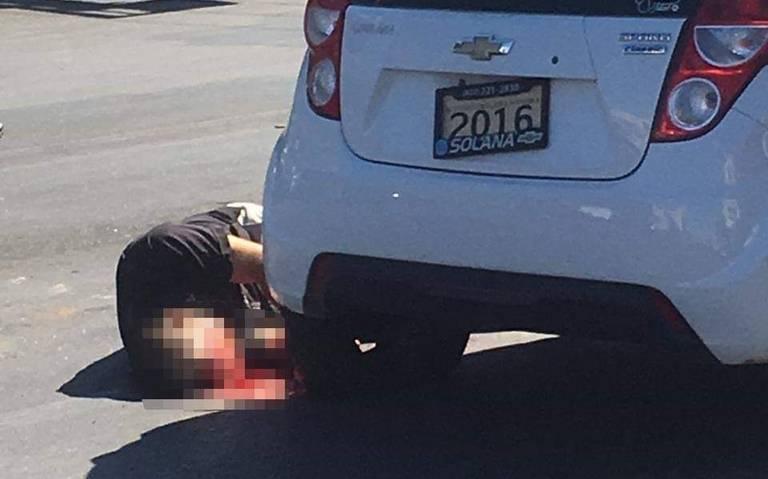 Asesinan a contralor municipal de Guaymas en pleno Centro
