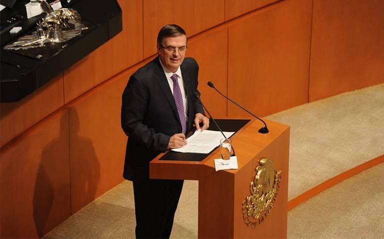 Ebrard afirma ante el Senado que no hay compromisos ocultos en el acuerdo con EU