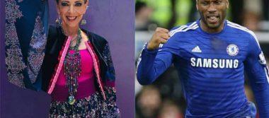 ¿Qué tenían en común Edith González y el futbolista Didier Drogba?