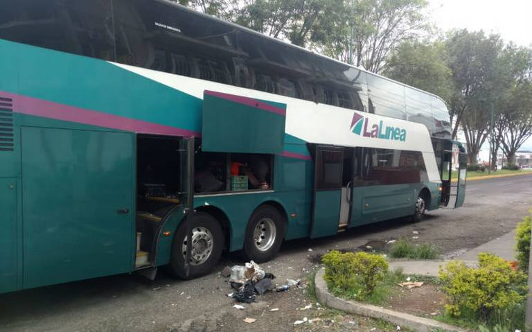 Artefacto que explotó en autobús era dispositivo para disuadir protestas: SSP Michoacán