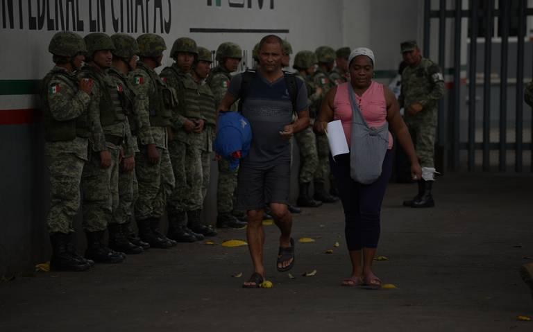 Desde hoy se desplegará la Guardia Nacional en la frontera sur: Ebrard