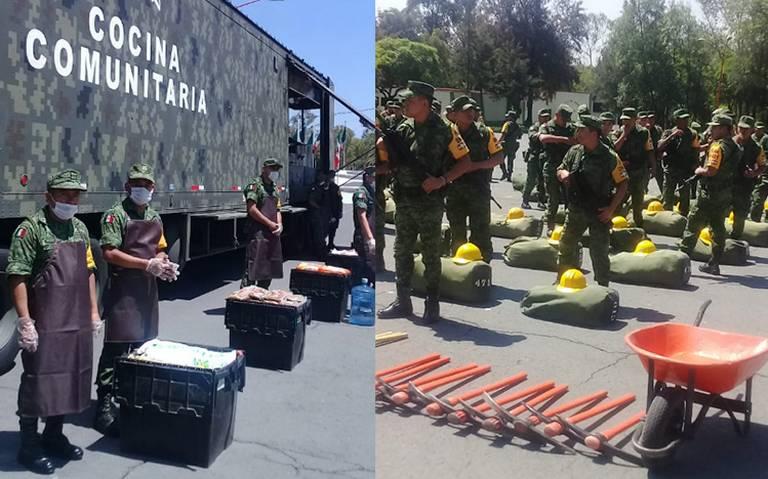 Sedena inicia despliegue de tropas para época de huracanes