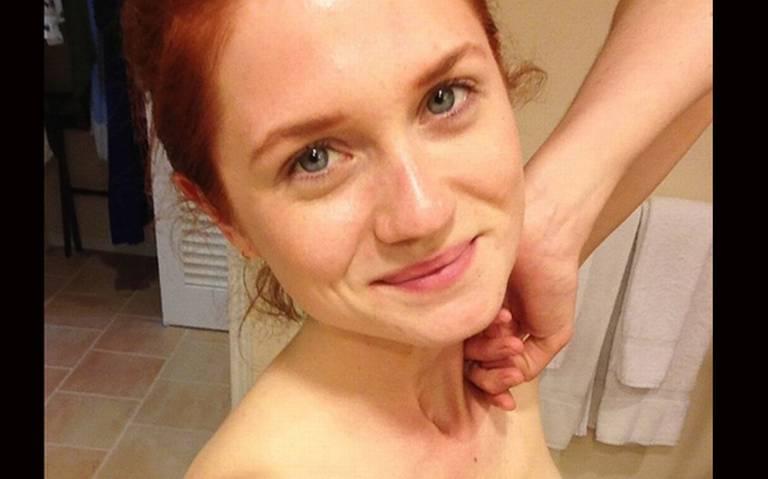Filtran candentes fotos de la actriz Bonnie Wright