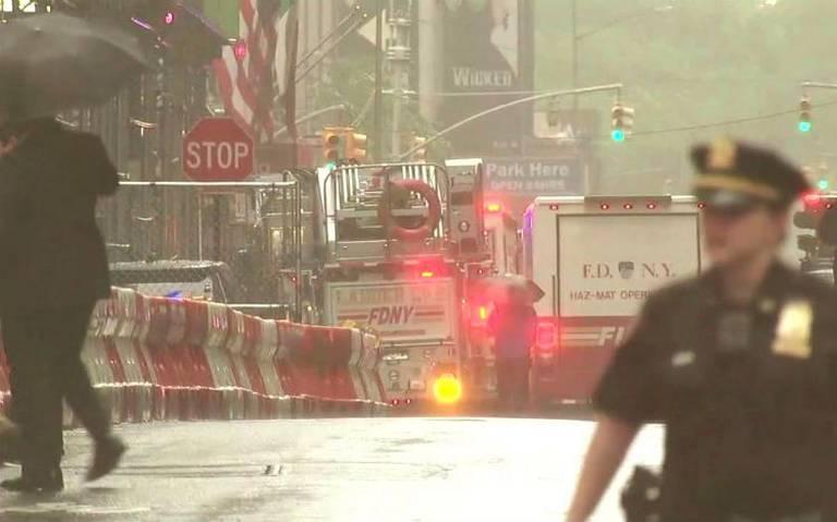 Se estrella helicóptero contra rascacielos en Manhattan