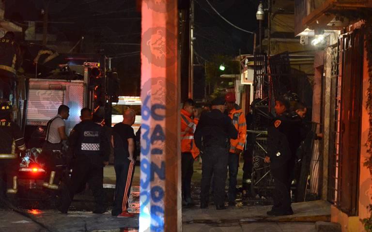 Provoca incendio la muerte de una mujer en Iztapalapa