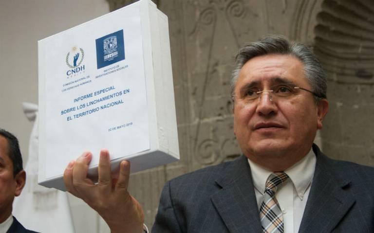 Por primera vez en 29 años, gobierno federal cancela presentación de informe de CNDH
