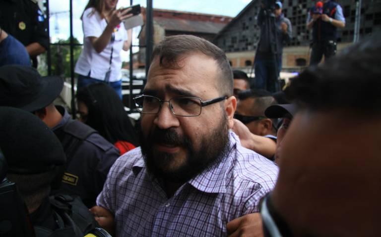 Niegan a Javier Duarte amparo contra orden de aprehensión por desaparición forzada