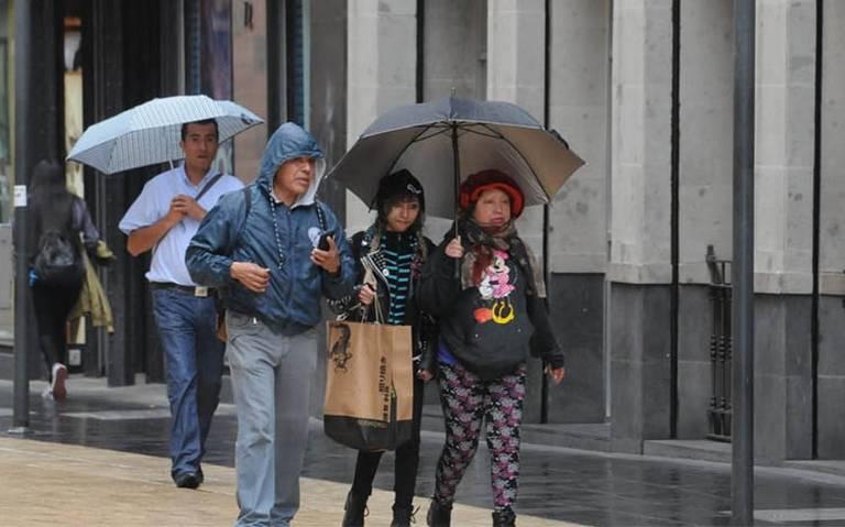 Lluvias muy fuertes, actividad eléctrica y granizo, prevén en seis estados
