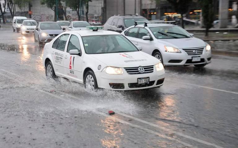 Continúa potencial de lluvias y tormentas eléctricas en gran parte del país