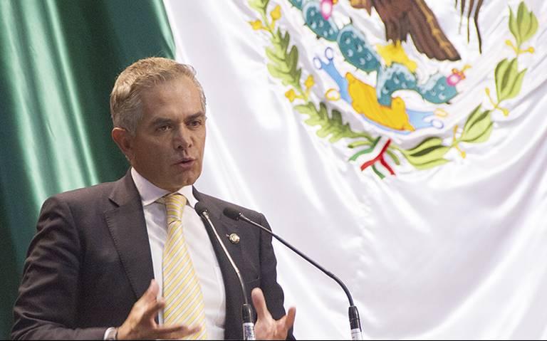 """""""Siempre combatí la delincuencia"""", Mancera se exonera de inseguridad en CDMX"""