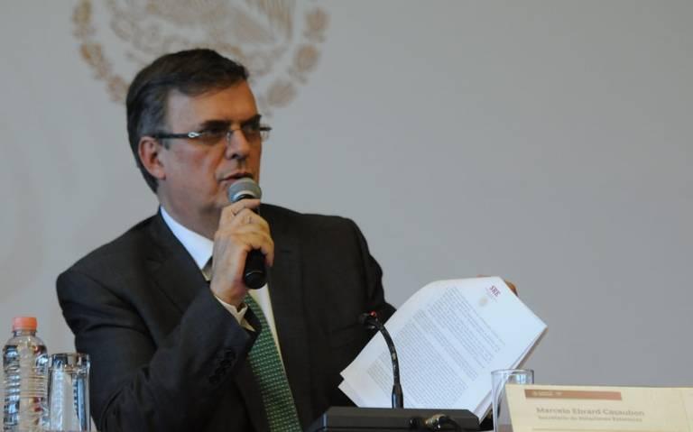México tiene un futuro promisorio, afirma Marcelo Ebrard