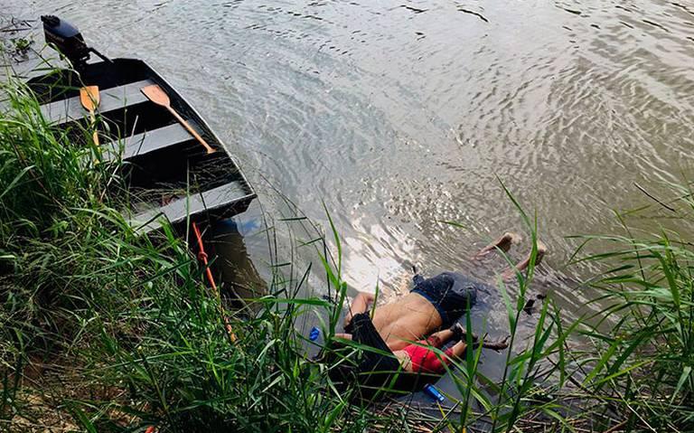 """""""La odio"""", dice Trump sobre foto de migrante y su hija ahogados"""