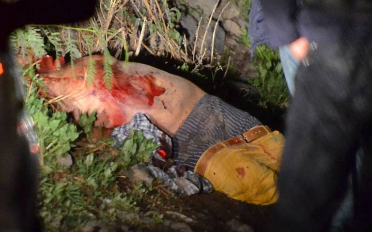 Hallan sujeto maniatado y ensangrentado en inmediaciones de Tláhuac
