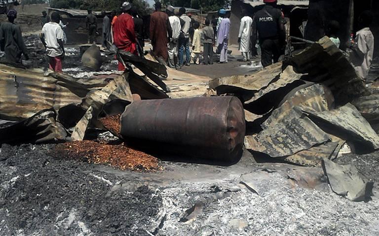 Al menos 30 muertos por triple atentado contra aficionados de futbol en Nigeria
