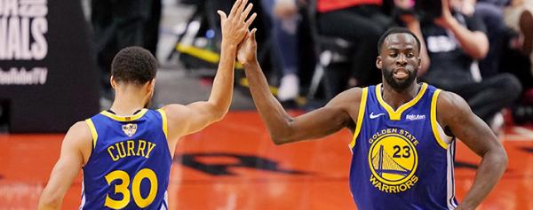 Los Warriors empatan la serie ante los Raptors