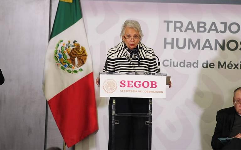 INM tendrá un papel activo en plan de emergencia migratorio: Sánchez Cordero