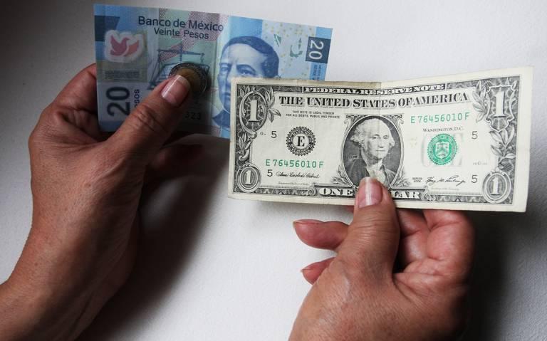 Dólar supera la barrera de los 20 pesos en bancos capitalinos