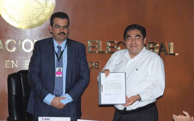 Miguel Barbosa es gobernador electo de Puebla