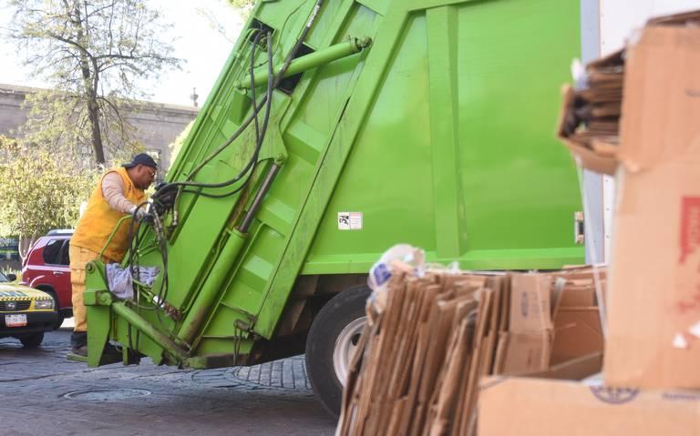 Cambiarán servicio de recolección de basura