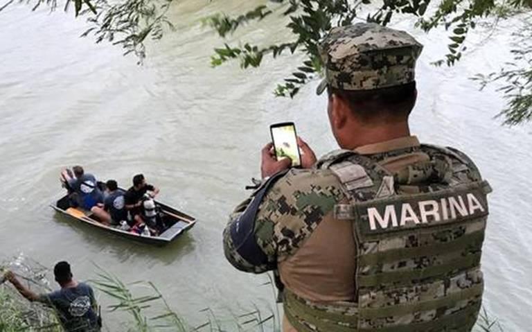 Migrante muere ahogado con su hijita al tratar de cruzar a EU