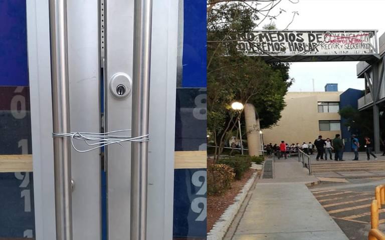 Universitarios toman la Facultad del Hábitat