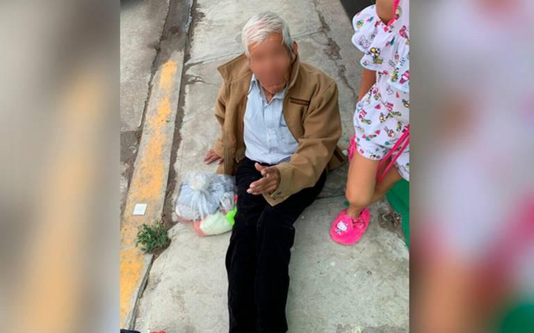 [Video] Lo dejan a su suerte: así abandonan a señor de la tercera edad