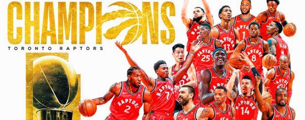 ¡Los Toronto Raptors son campeones de la NBA!
