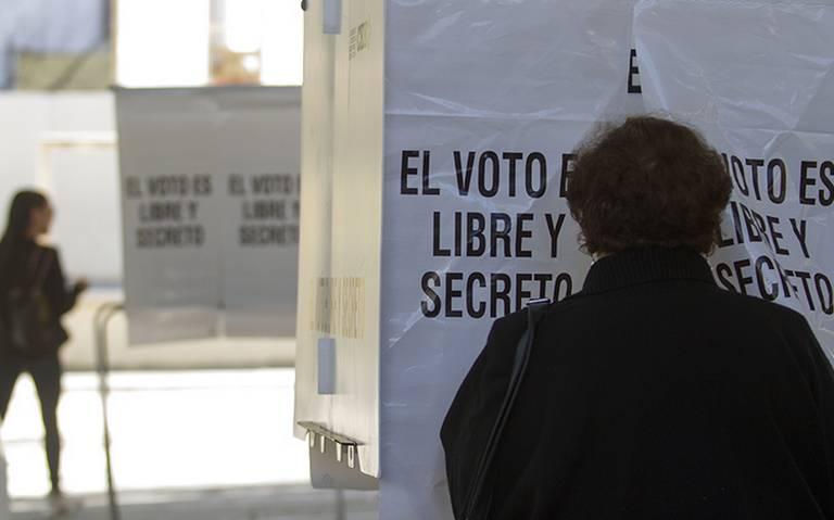 Inicia cierre de casillas en cinco de los seis estados con elecciones