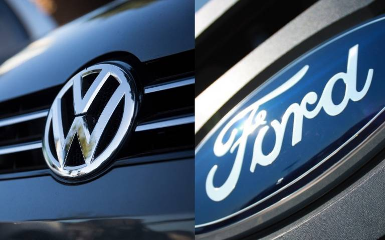 Volkswagen y Ford, cerca de cerrar acuerdo para fabricar autos de conducción autónoma