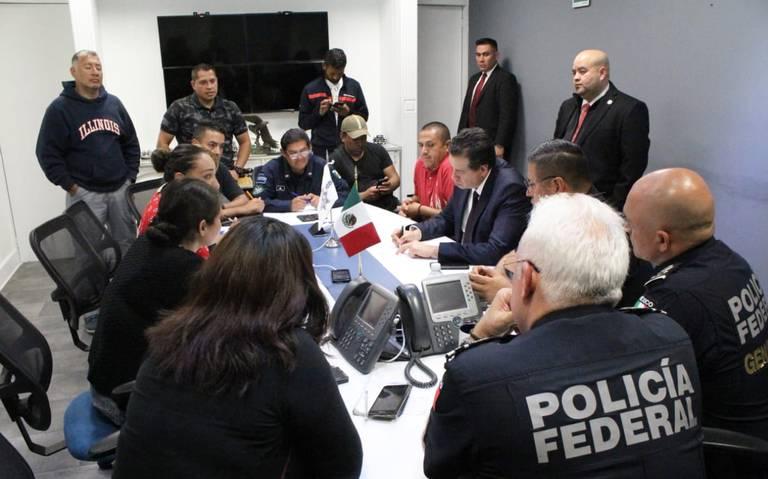 SSP logra acuerdo con policías federales