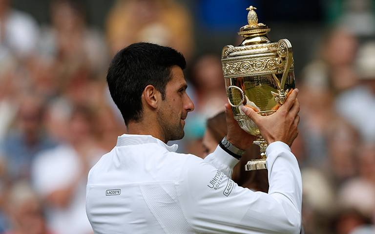 Novak Djokovic triunfa en Campeonato de Wimbledon