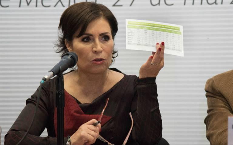 FGR solicita vinculación a proceso de Rosario Robles