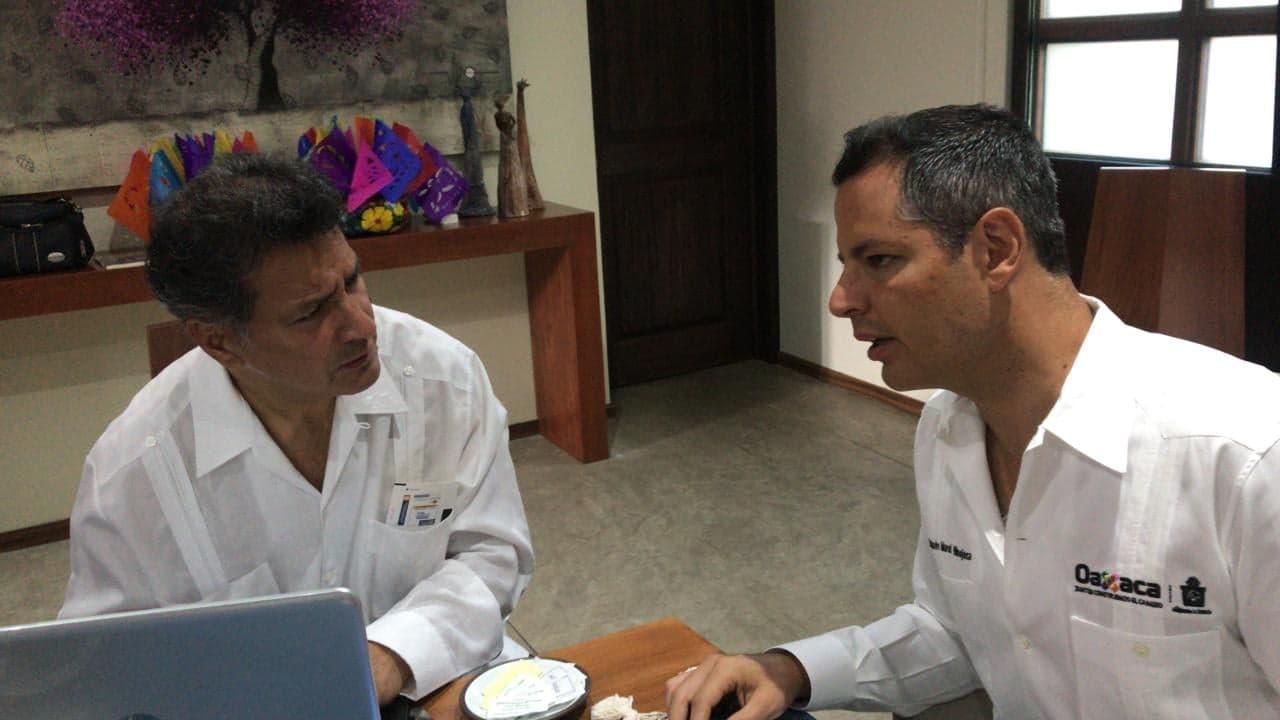 Entrevista con el Gobernador de Oaxaca Alejandro Murat Hinojosa
