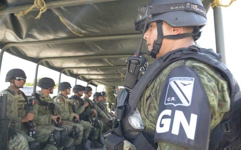 Trabaja Guardia Nacional en operativos de la Cuauhtémoc