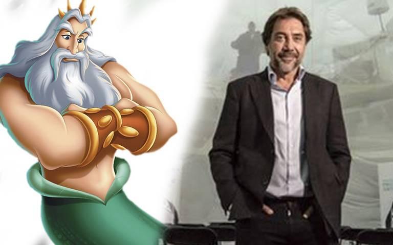 Javier Bardem podría ser el nuevo Rey Tritón en remake de La Sirenita