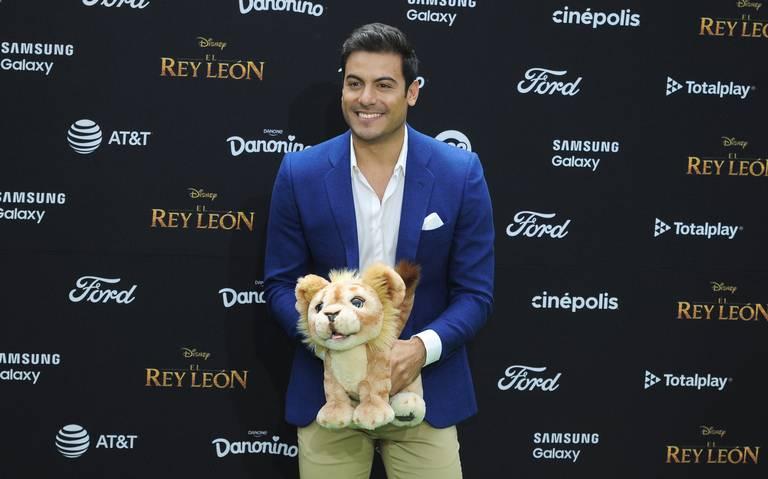 El Rey león ha sido un regalo en mi vida: Carlos Rivera
