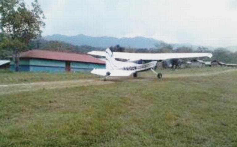 Asaltan avioneta en Chiapas que transportaba recursos para becas de AMLO