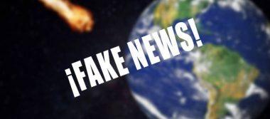 ¡Fake News! No se estrellará ningún meteorito contra la tierra