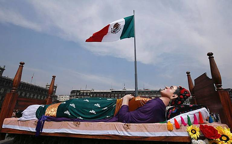 """Los Colores de Frida Kahlo llegan al """"corazón"""" de la CDMX"""