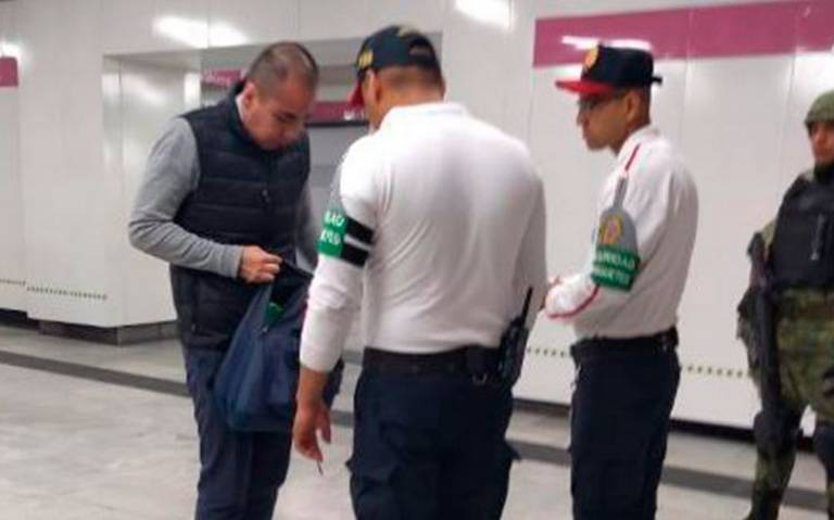 Vigilancia de Guardia Nacional en Metro no será permanente: Sheinbaum