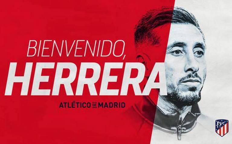 ¡Aúpa! Héctor Herrera, nuevo jugador del Atlético de Madrid