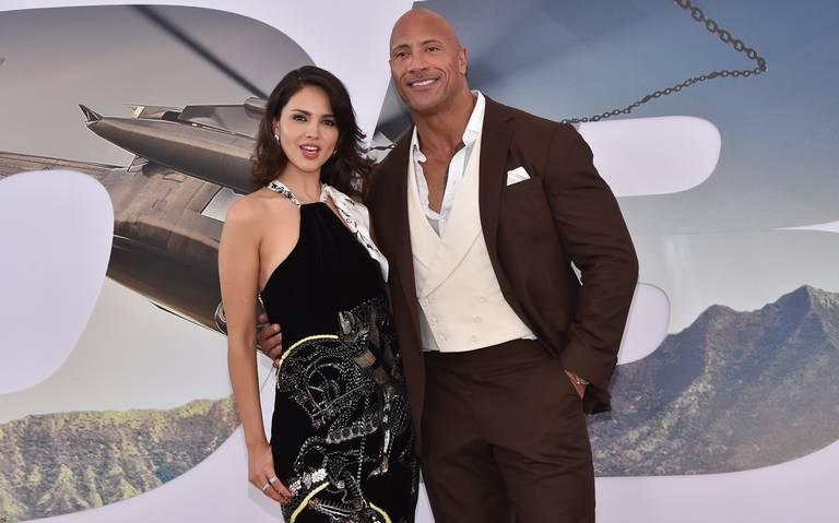 Eiza González vuelve al cine de la mano de The Rock